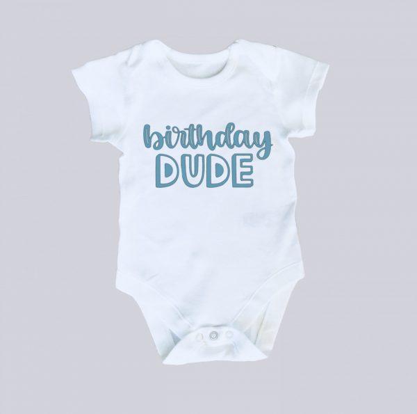 Personalised Birthday Onesie