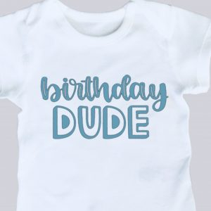 Personalised Birthday Onesie
