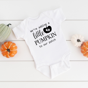 Were Adding A little Pumpkin