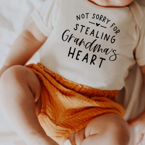 Not sorry for stealing grandma's heart
